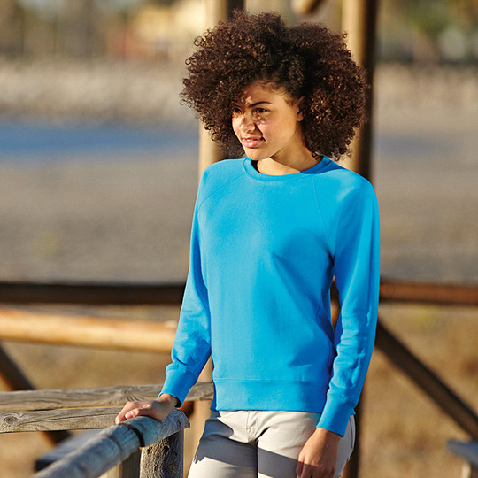 LIGHTWEIGHT RAGLAN SWEAT - donna