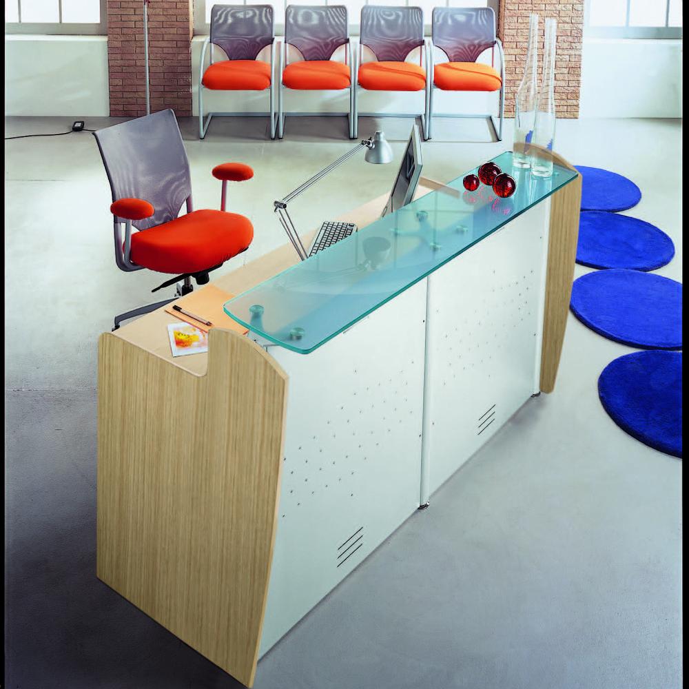Banconi reception wave reception mobili per ufficio for Banconi per ufficio